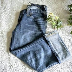 Gap original ultra low rise cuffed jeans